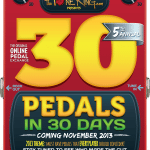 30 Pedals in 30 Days 2013 : Artwork