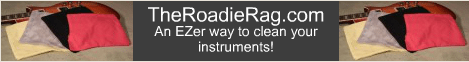 The Roadie Rag - An EZer way to clean your instruments!