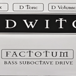 30 Pedals in 30 Days 2014: Red Witch Pedals Factotum Bass Suboctave Drive