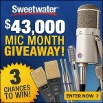 Mic Month at Sweetwater