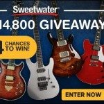 Sweetwater Guitar Giveaway Sept 2015