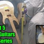 Acacia Guitars - Final Sand, Prep & Prime - Video 5 of 9